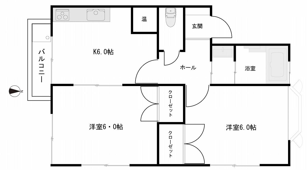 1棟アパート 金沢市長坂台