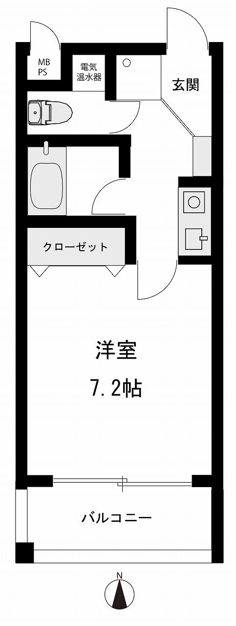 分譲マンション パサージュ法光寺2階