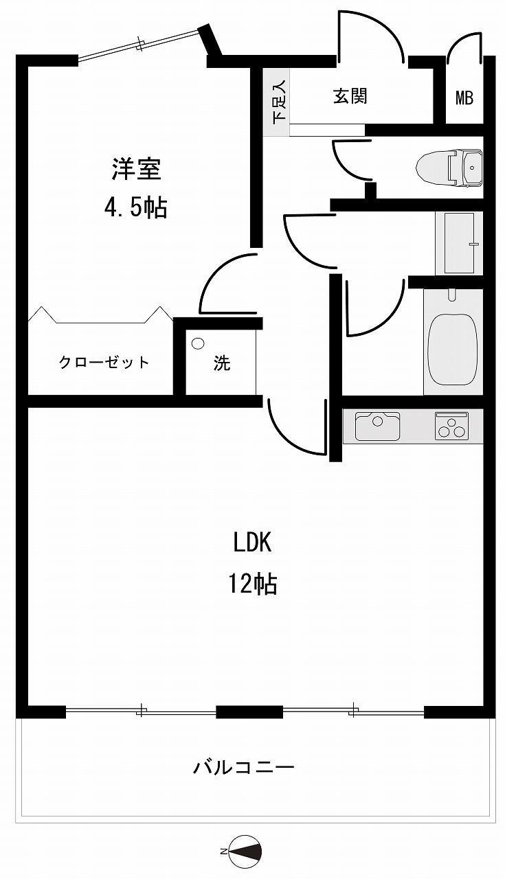 分譲マンション トーカンマンション犀川南11階
