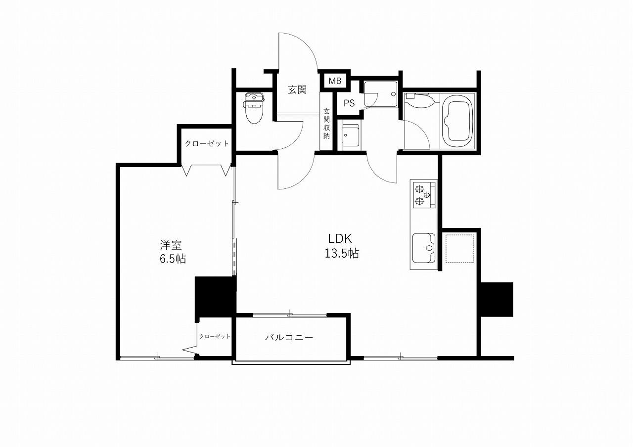 分譲マンション ロイヤルプラザ片町5階